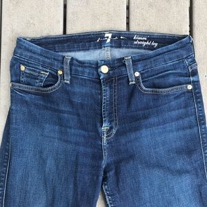 7 For All Mankind Jeans - 7 FOR ALL MANKIND Kimmie Straight Leg Jeans 30